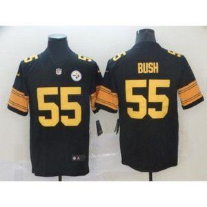 Pittsburgh Steelers Devin Bush #55 Jersey